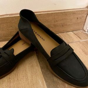 Lucky Brand Suede Dress Flats/Loafers
